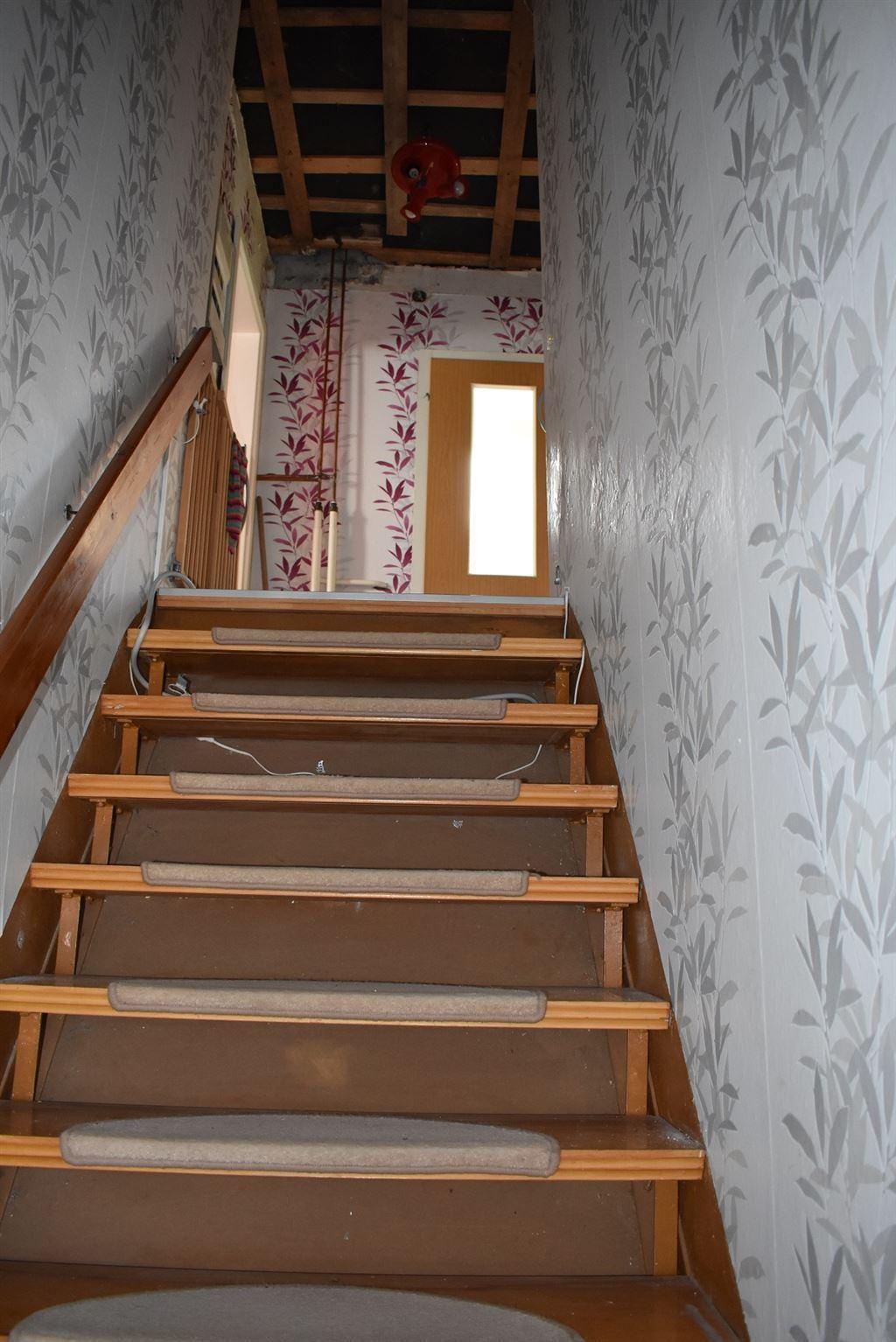 Treppe zum DG.